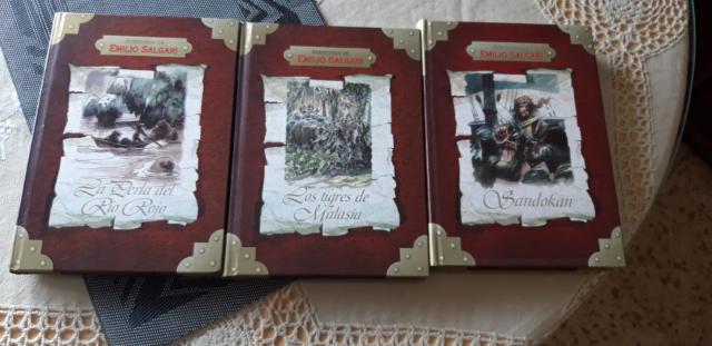 se venden 3 libros de aventuras nuevos a estrenar