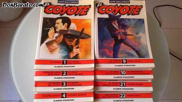 8 novelas de el coyote