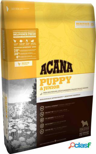 Acana Pienso para Perros Puppy And Junior 17 Kg