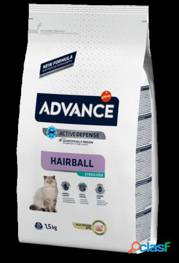 Advance Pienso para gatos Adultos Sterilized Hairball 10 KG