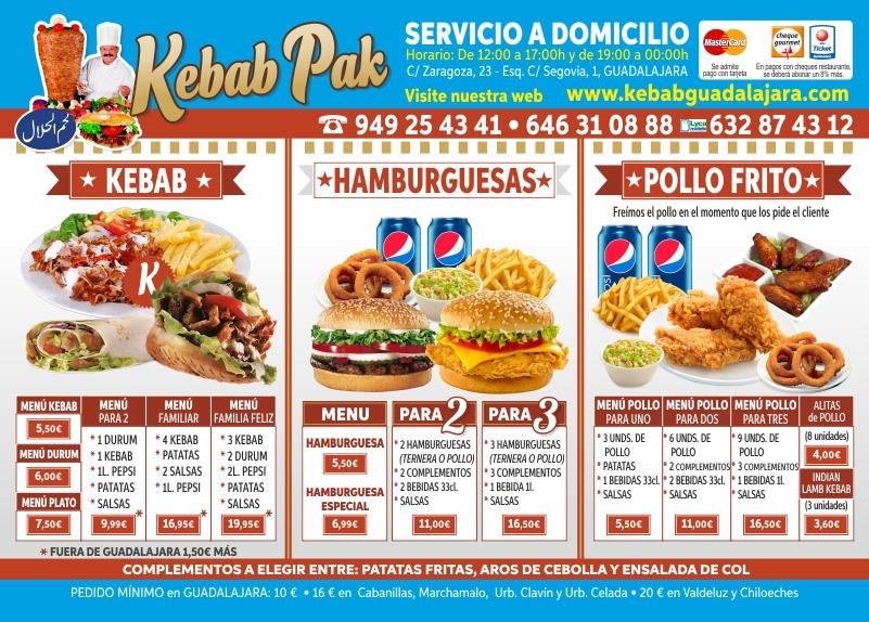 Ahorra tiempo con doner kebab pak - Guadalajara