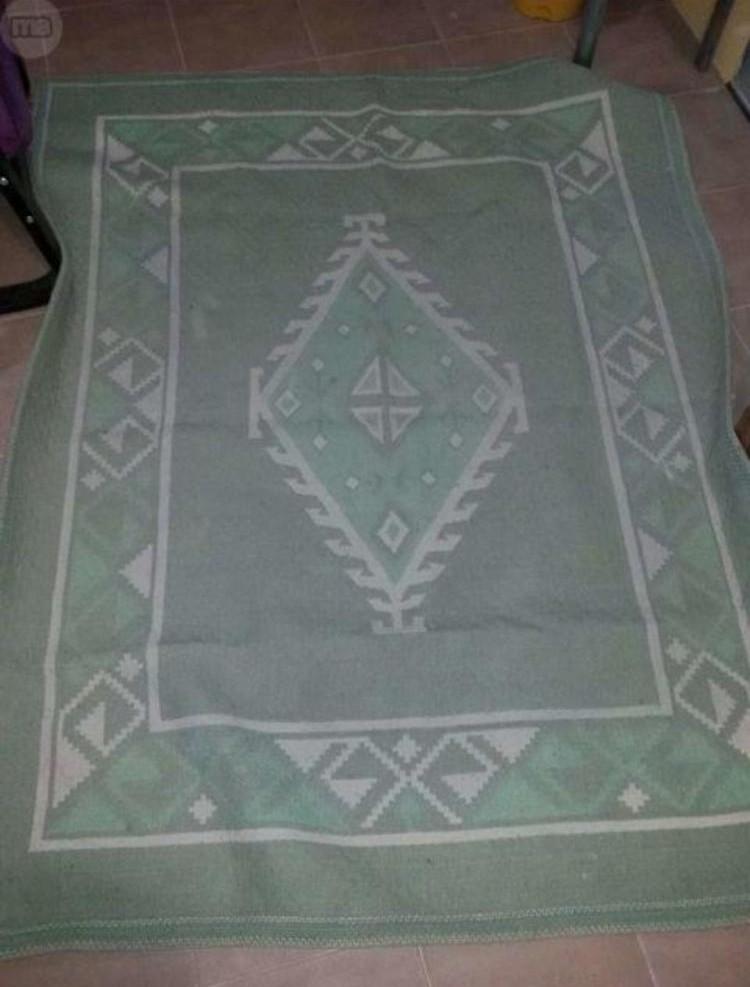 Alfombra de 1,60 x 2 m. Pura lana virgen