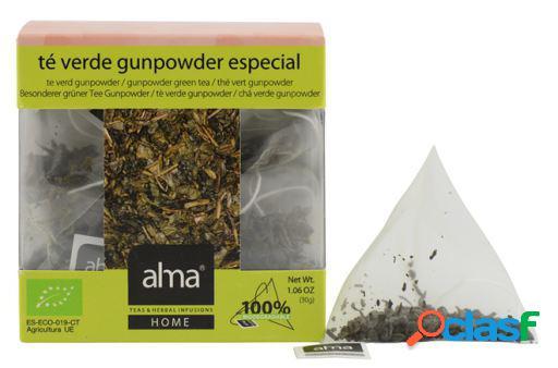 Alma Home Té Verde Gunpowder 15 Bolsitas 30 gr