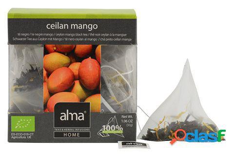 Alma Home Te Negro Ceylan Mango 15 Bolsitas 30 gr