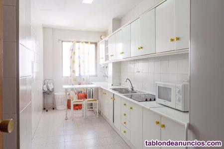 Alquiler por habitaciones de larga duración en la ciudad de