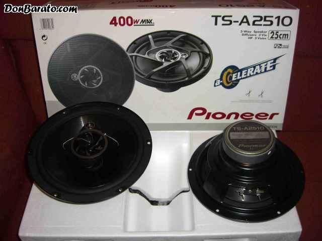 Altavoces pioneer tsw 3 vias 25 cm