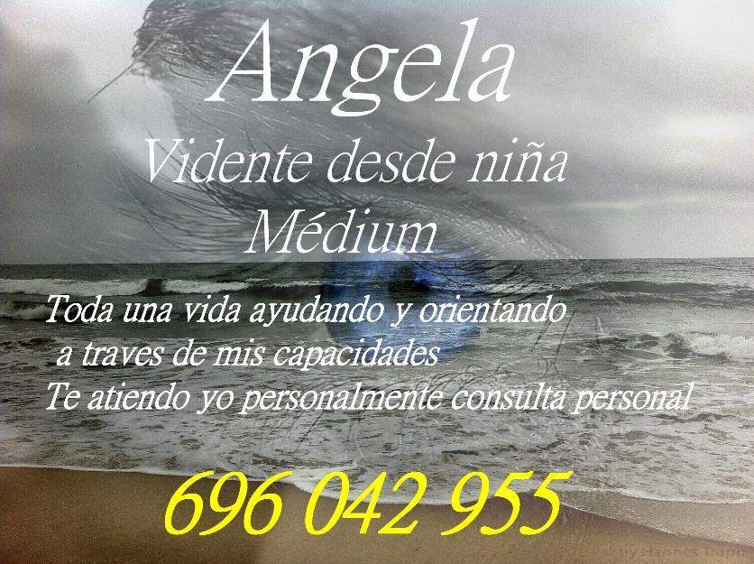 Angela vidente medium don de nacimiento te atiendo yo