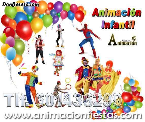 Animación infantil para cumpleaños y fiestas