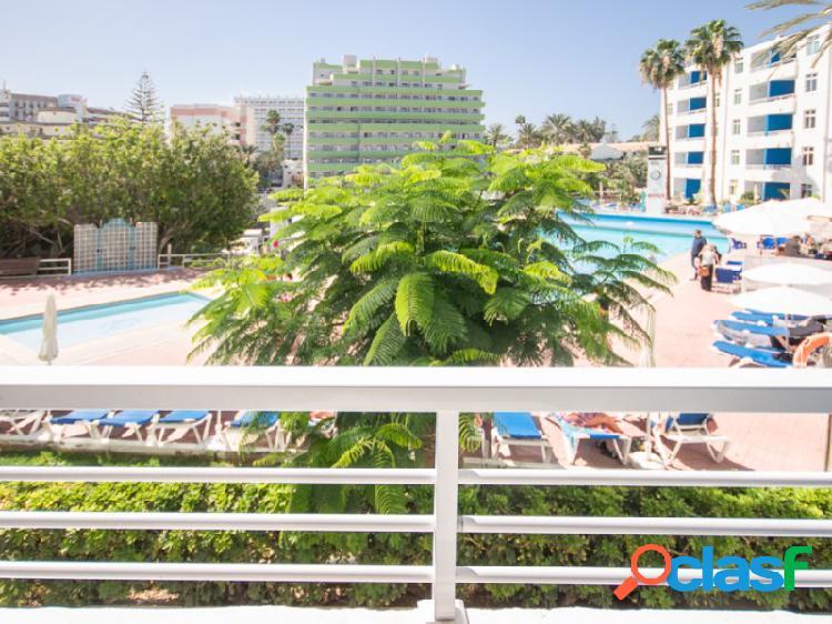 ¡Apartamento de dos habitaciones en Playa del Inglés!