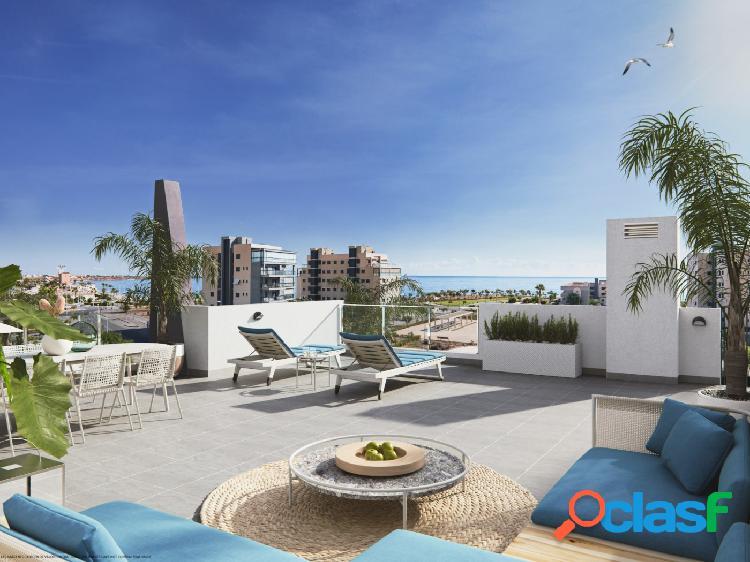 Apartamentos en La Playa Bianca en Mil Palmeras.