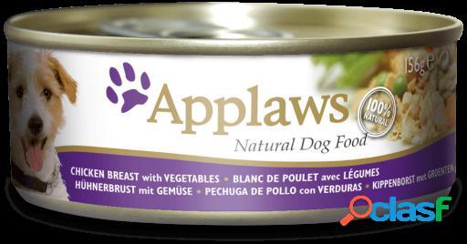 Applaws Lata de Pollo con Verduras para Perros 156 GR