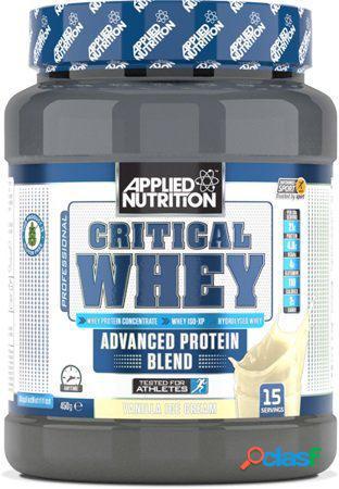 Applied Nutrition Critical Whey Vanilla Ice Cream 450 gr