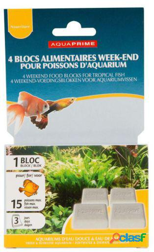 Aquaprime Weekend Fish Block Aquaprime 540 GR