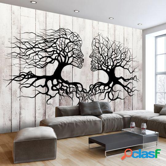 Artgeist Fotomural A Kiss of a Trees 100x70 cm