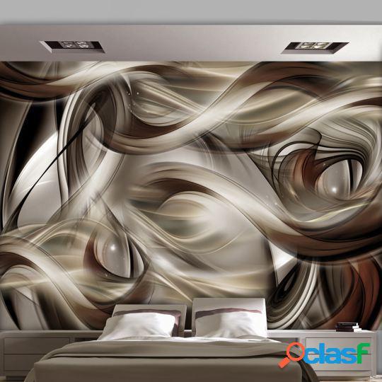 Artgeist Fotomural Brown Revelry 350x245 cm