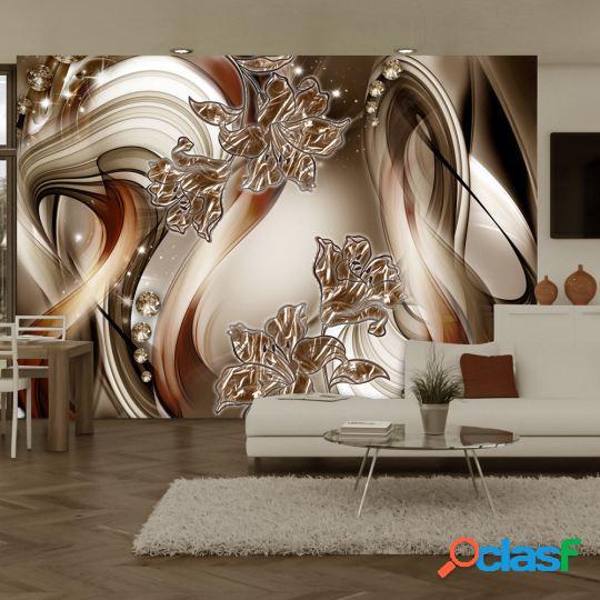 Artgeist Fotomural Brown Symphony 250x175 cm