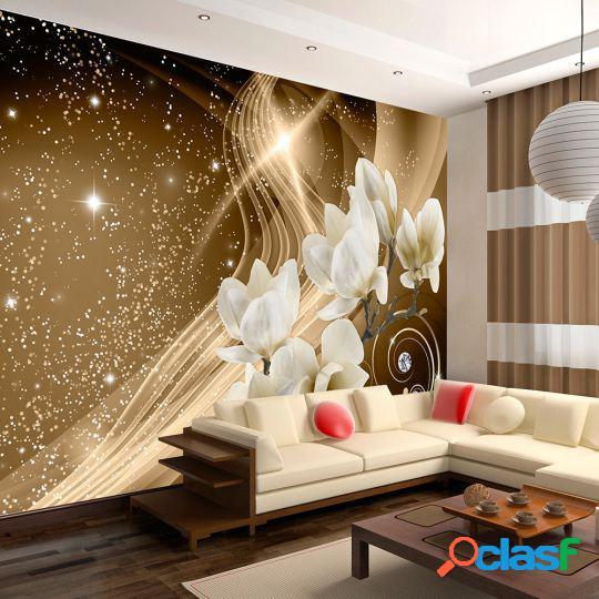 Artgeist Fotomural Golden Milky Way 100x70 cm