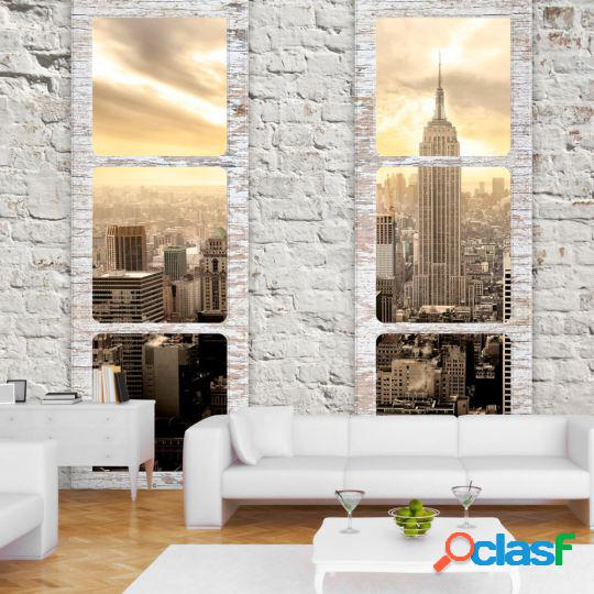 Artgeist Fotomural New York view from the window 400x280 cm