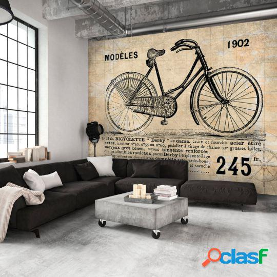 Artgeist Fotomural Old School Bicycle 250x175 cm