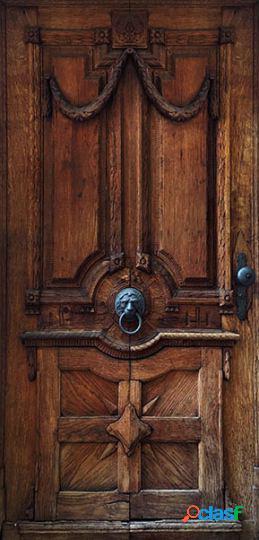 Artgeist Fotomural Para Puerta Luxury Door 100x210 cm