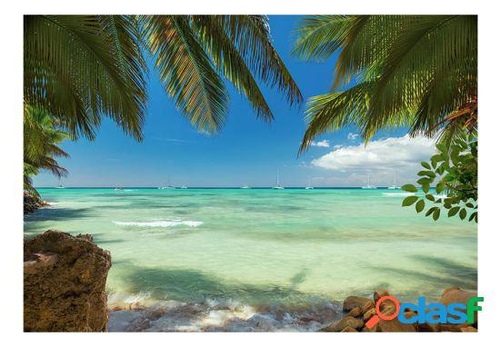 Artgeist Fotomural Relajación en la playa 100x70 cm