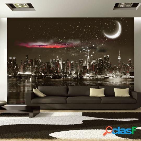 Artgeist Fotomural Starry Night Over NY 100x70 cm