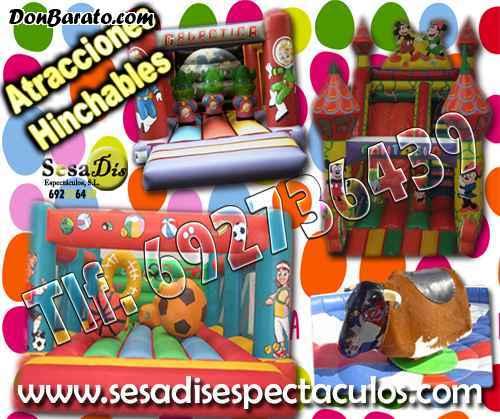 Atracciones y parques infantiles