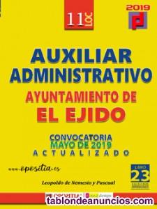 Auxiliar administrativo ayuntamiento de el ejido - 5 plazas