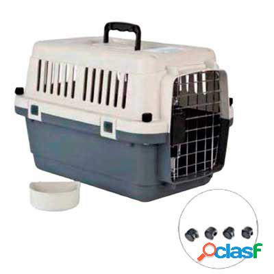 Axis-Biozoo Transportín Homologado para Perros Con Comedero