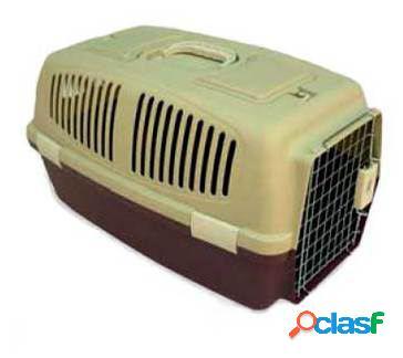 Axis-Biozoo Transportín de Plástico para Perros y Gatos