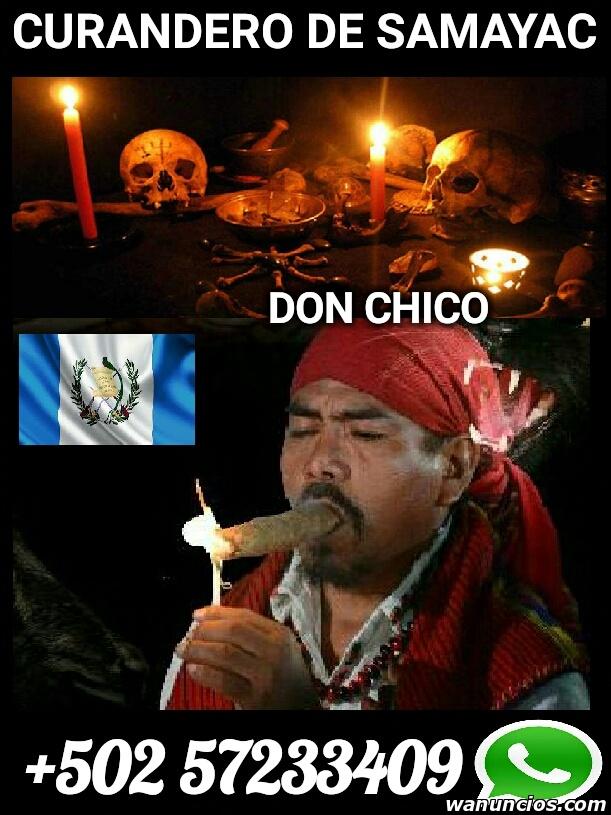BRUJO CURANDERO DEL TEMPLO DE CHAMANES EN SAMAYAC GUATEMALA