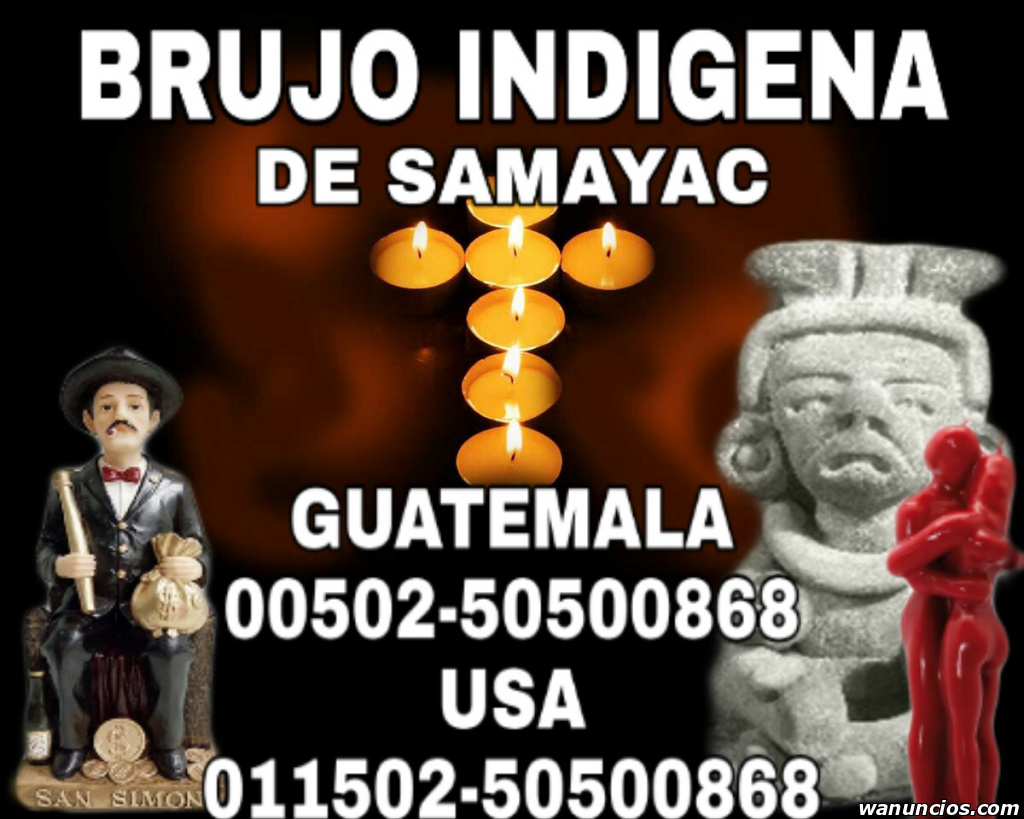 BRUJO DE GUATEMALA - - Sevilla