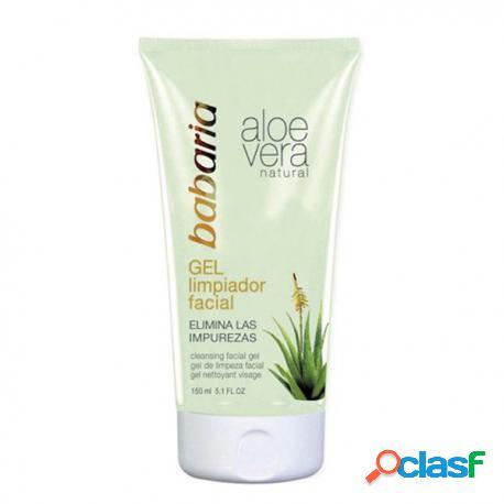 Babaria Gel Limpiador Facial Áloe vera 150 ml 150 ml