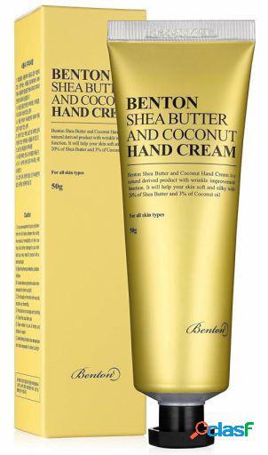 Benton Crema de Manos de Manteca de Karité y Coco 50 gr 50
