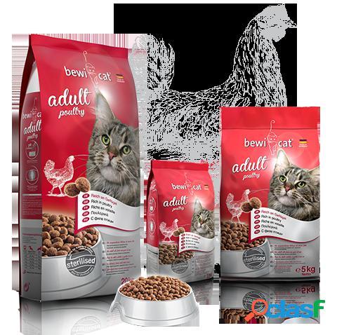 Bewi Cat Pienso para Gatos Adult Pollo 1 Kg