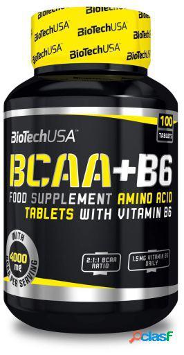 BiotechUSA BCAA+B6 con 100 Comprimidos