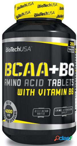 BiotechUSA Bcaa + B6 200 Tabletas