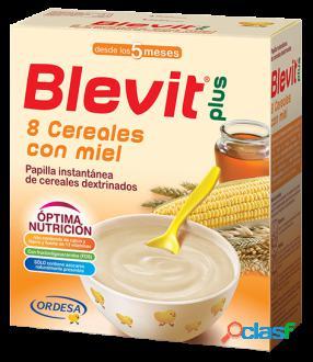 Blevit Papilla Instantánea 8 Cereales con Miel 600 gr