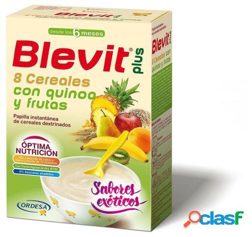 Blevit Papilla Plus 8 Cereales Quinoa y Frutas 300 gr 300 gr