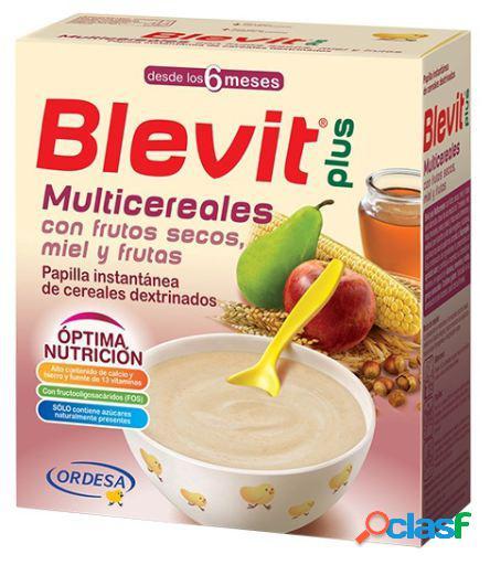 Blevit Papilla Plus Multicereales Frutos Secos 300 gr 300 gr