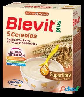 Blevit Papilla Plus Superfibra 5 Cereales 600 gr 600 gr