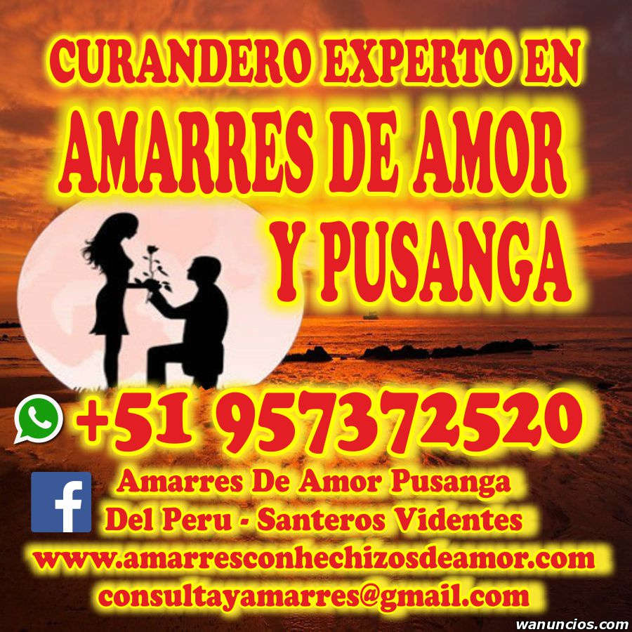 CURANDERO - RECONQUISTA A TU PAREJA YA - TODA ESPAÑA -
