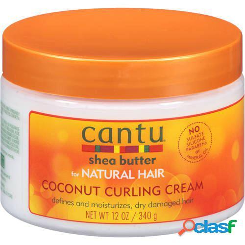 Cantu Crema Hidratante para Rizos de Coco Natural 340 gr 340