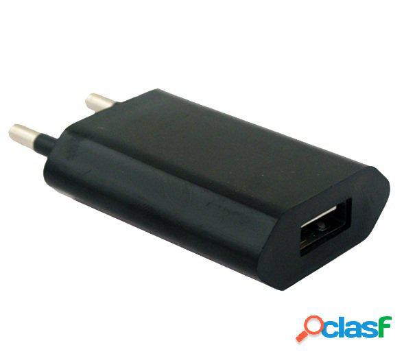 Cargador rapido usb 1A para Apple Iphone 4, 3, 3G, 3Gs,