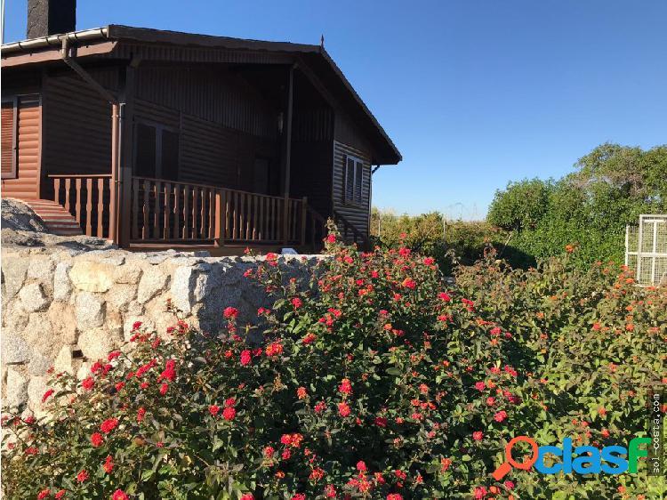 Casa de madera en Oliva