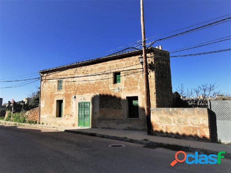 Casa de origen en el pueblo de Algaida