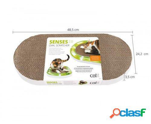Catit Senses 2.0 Rascador Ovalado 288 gr