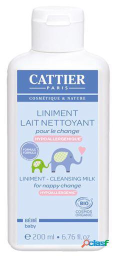 Cattier Leche Limpiadora para el Cambio de Pañal Bebe