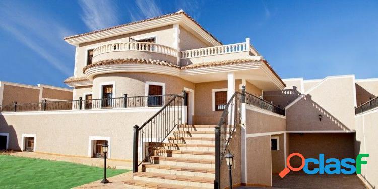 Chalet de obra nueva en residencial Huertos II (Los Altos)