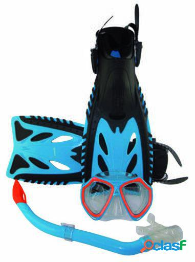 Cladellas Set de aleta, gafa y tubo